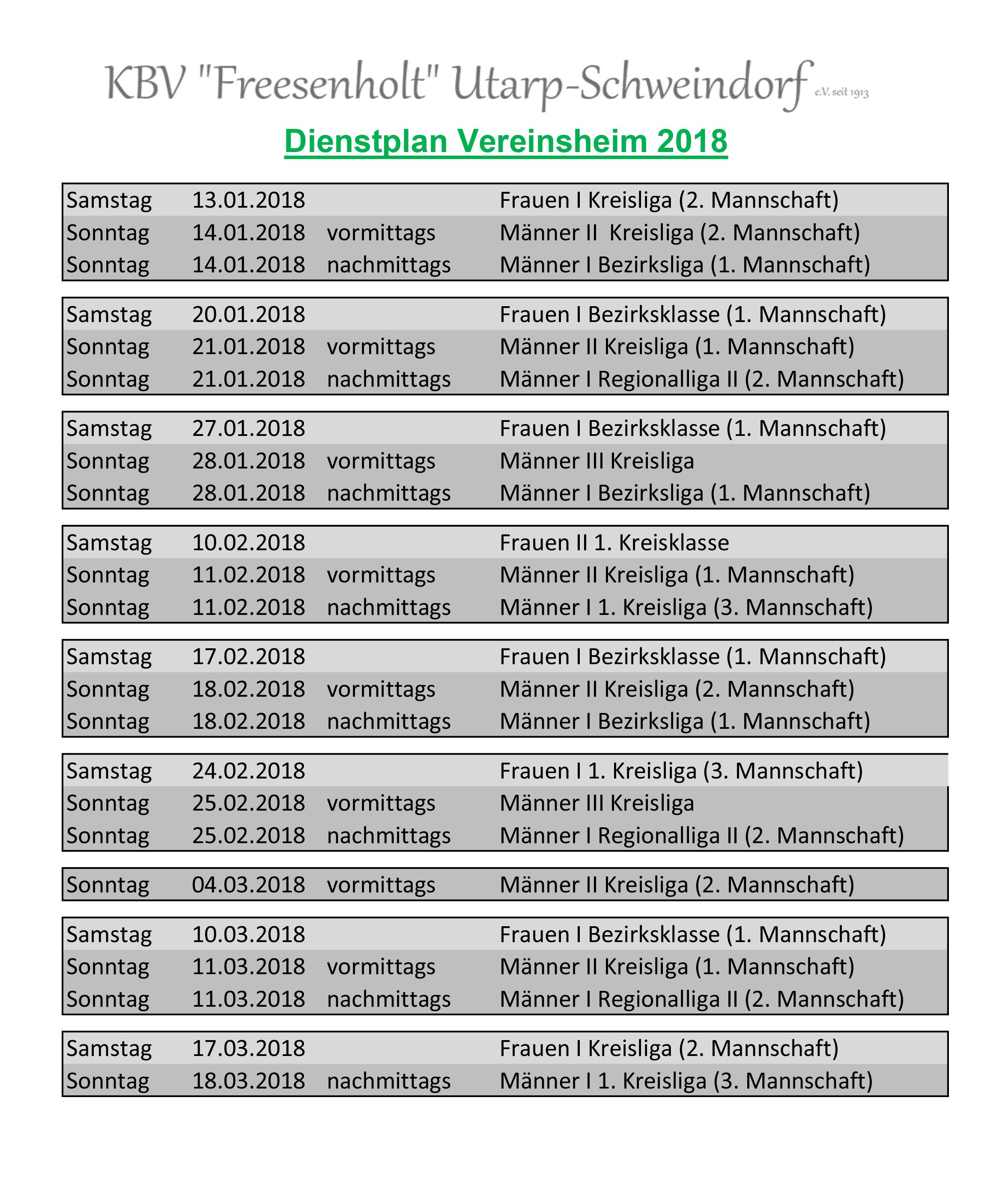 2017_2018 Dienstplan Vereinheim 2. Halbjahr.xlsx